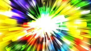 Abstract Colorful Rays Background
