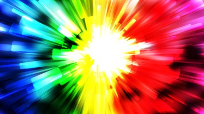 Abstract Colorful Burst Background Vector Illustration