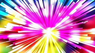 Abstract Colorful Radial Lights Background