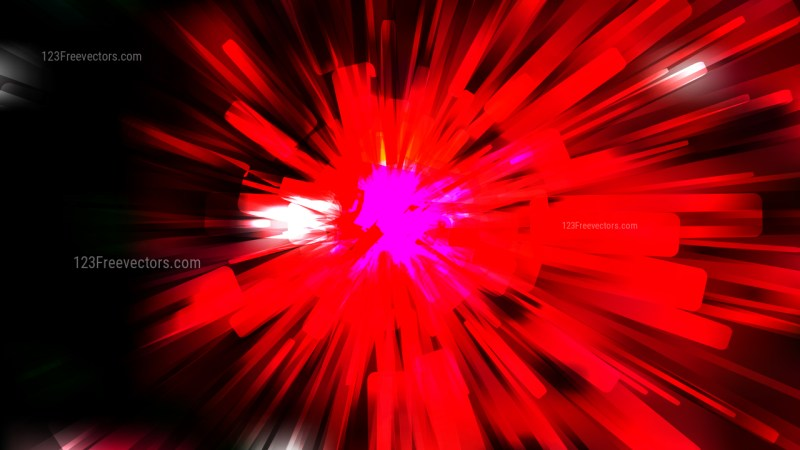 Abstract Cool Red Radial Background Design Template