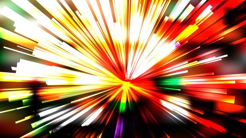 Abstract Dark Color Light Burst Background Illustrator