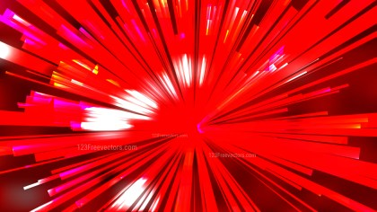 Abstract Dark Red Radial Lights Background Vector Illustration