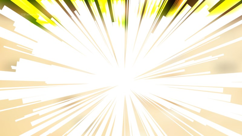 Abstract Green and Beige Light Rays Background Image