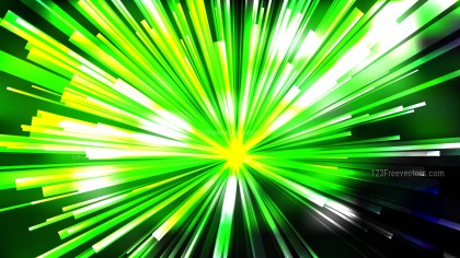Abstract Green Black and White Radial Explosion Background Image