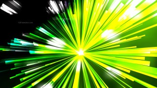 Abstract Green Black and White Burst Background