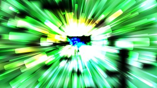 Abstract Green Black and White Light Burst Background