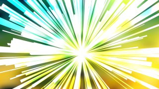 Abstract Green Yellow and White Burst Background Illustration