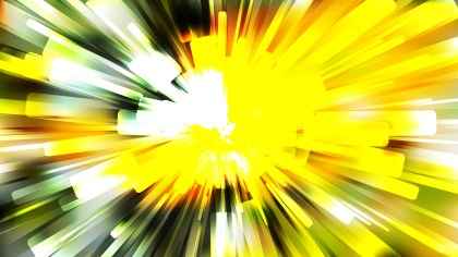 Abstract Green Yellow and White Rays Background Design