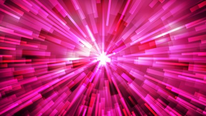 Abstract Hot Pink Burst Background Image