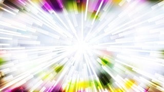 Abstract Light Color Starburst Background Vector