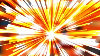 Abstract Orange and White Radial Explosion Background