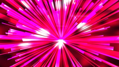 Abstract Pink and Red Radial Lights Background