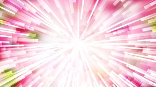 Abstract Pink and White Sunburst Background