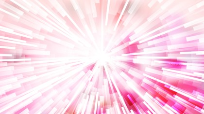 Abstract Pink and White Radial Lights Background Illustration