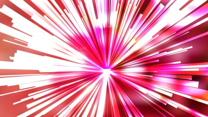 Abstract Pink and White Radial Background Vector Image