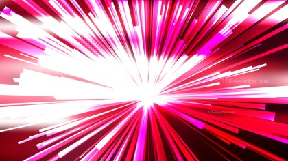 Abstract Pink and White Light Burst Background