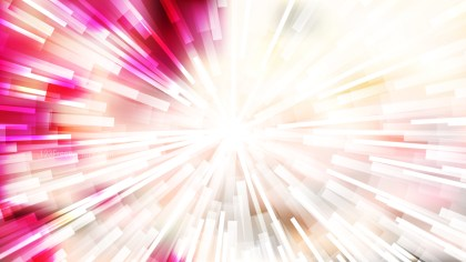 Abstract Pink and White Radial Sunburst Background