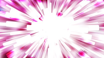 Abstract Pink and White Radial Background Image