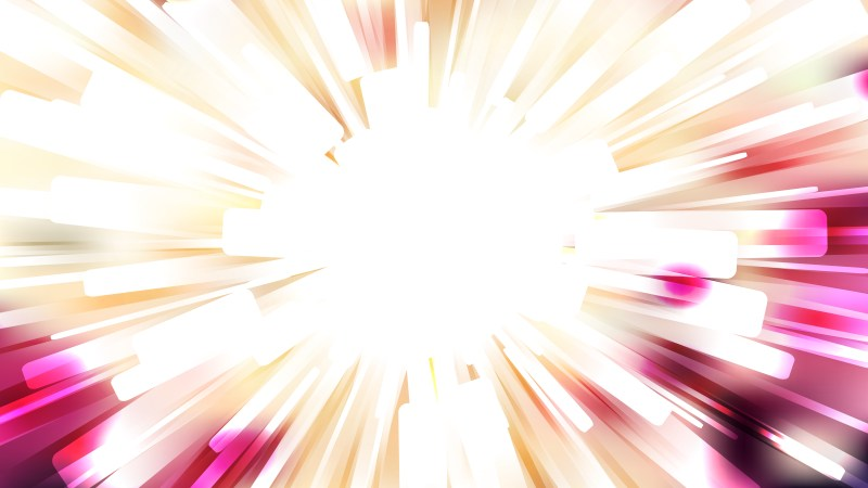Abstract Pink and White Burst Background Image