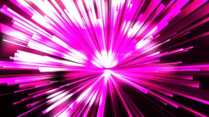 Abstract Pink Black and White Sunburst Background