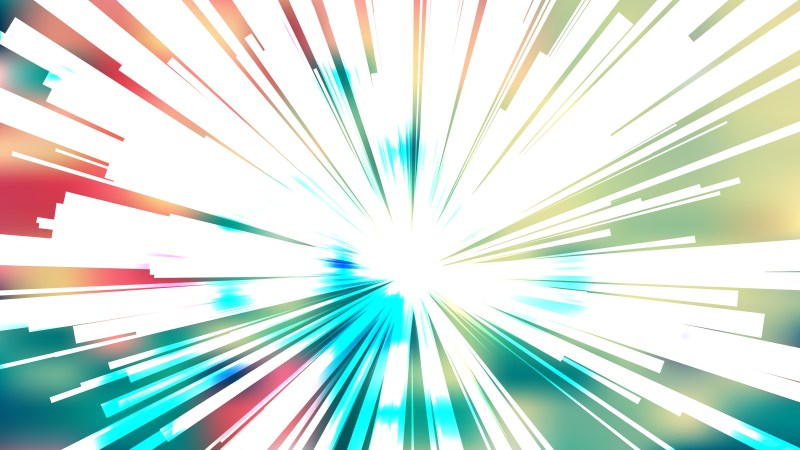 Abstract Pink Blue and White Sunburst Background