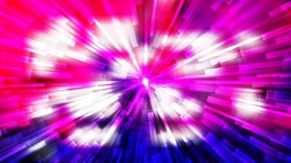 Abstract Pink Blue and White Light Burst Background Vector Graphic