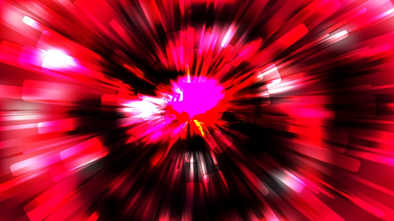 Abstract Pink Red and Black Burst Background Design Template