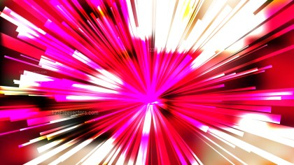 Abstract Pink Red and White Starburst Background Vector Graphic
