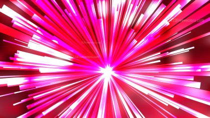Abstract Pink Red and White Sunburst Background