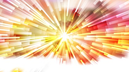 Abstract Pink Yellow and White Light Burst Background Vector Graphic