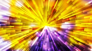 Abstract Purple and Orange Light Burst Background