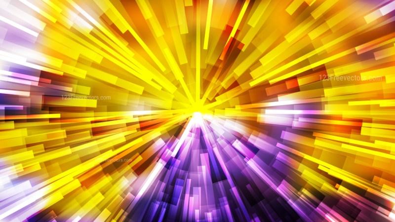 Abstract Purple and Orange Light Burst Background