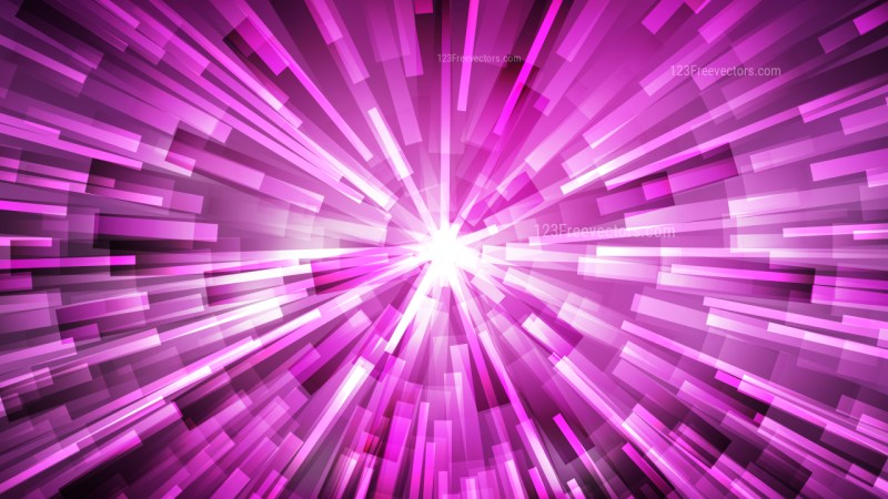 Abstract Purple and White Rays Background Vector Graphic