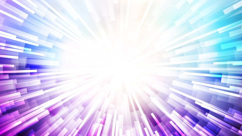 Abstract Purple and White Radial Lights Background