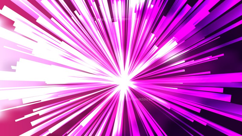 Abstract Purple and White Radial Sunburst Background