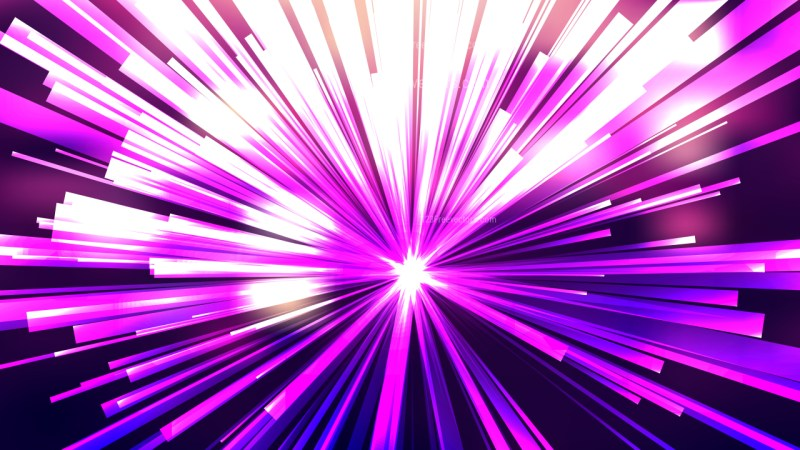 Abstract Purple and White Burst Background Vector Illustration