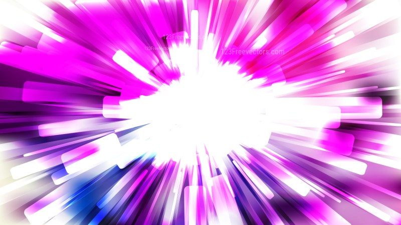 Abstract Purple and White Rays Background