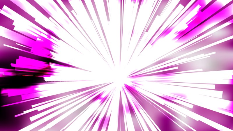 Abstract Purple and White Radial Stripes Background