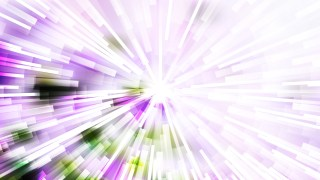 Abstract Purple Green and White Sunburst Background