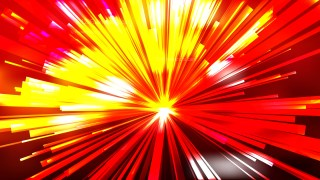 Abstract Red and Yellow Sunburst Background Image