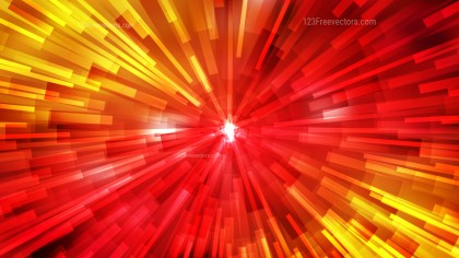 Abstract Red and Yellow Radial Background