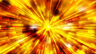 Abstract Red and Yellow Radial Lights Background