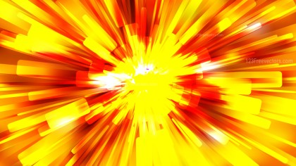 Abstract Red and Yellow Sunburst Background
