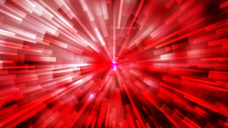Abstract Red Black and White Radial Stripes Background Illustrator