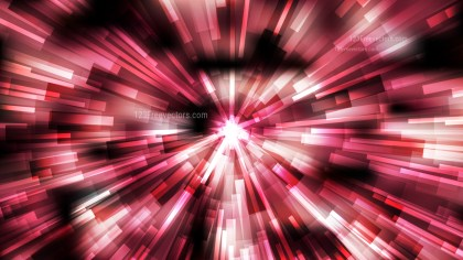 Abstract Red Black and White Burst Background