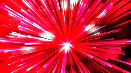 Abstract Red Black and White Sunburst Background