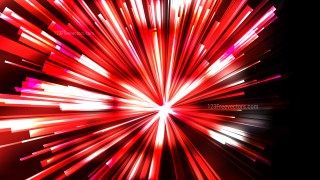 Abstract Red Black and White Light Rays Background