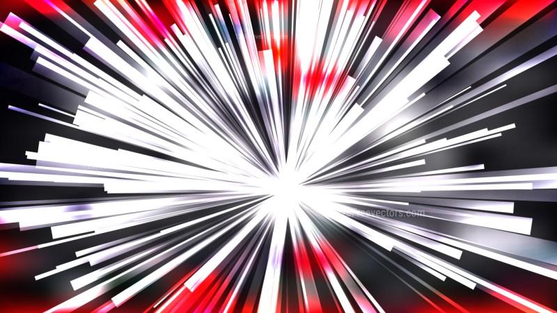 Abstract Red Black and White Light Burst Background Illustrator