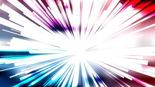 Abstract Red White and Blue Sunburst Background