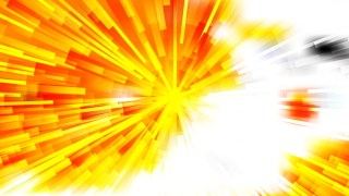 Abstract Red White and Yellow Radial Explosion Background Vector Art